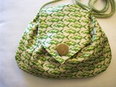 Little purses from vintage ties.  So adorable!