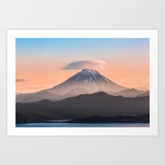 Vilyuchik volcano. Vilyuchic volcano is a stratovolcano in the southern part of Kamchatka Peninsula, View from Avacha Bay, Pacific ocean. Russia. Volcanoes of Kamchatka are in UNESCO World Heritage Site.