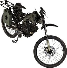 Motoped Survival Bike | DudeIWantThat.com