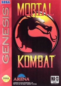Mortal Kombat for Sega Genesis. Never been good with all the combos and stuff. But it's still fun!