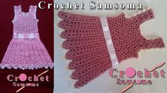طريقة كروشيه فستان لاي مقاس      crochet baby dress    Crochet Dress Girl     crochet kids dress  كروشيه فستان صيفى سهل وبسيط لأى مقاس  طريقة كروشيه فستان بنوتة     كروشيه فستان  كروشيه  تعليم الكروشيه للمبتدئين بالفيديو Crochet Dress Girl, Crochet Girls, Crochet For Kids, Crochet Baby, Crochet Top, Diy And Crafts, Girls Dresses, Palestine, Tops