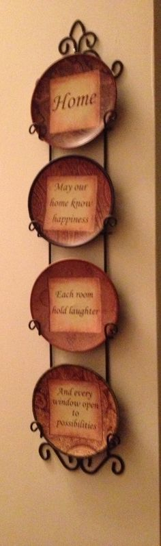 Wall plates in my country room