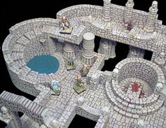 Hirst Arts - Flagstone Dungeon.  Oh the possibilities!!!