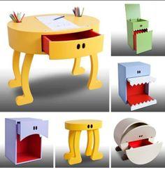 Muebles con gestos