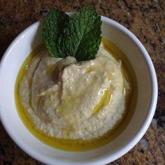 hummus - pasta de grao de bico