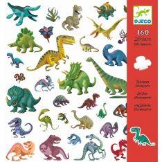 160 Sticker Dinosaurier