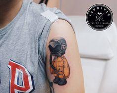 "157 Likes, 6 Comments - TATTOO STUDIO & PIERCING (@revolver_id) on Instagram: ""Astronaut • • • #tattoo #tattoos #ink #inked #tattoojakarta #jakarta #jakartatattoo…"""