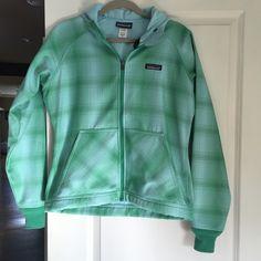 Patagonia jacket Plaid, fleece-lined hoodie. Patagonia Jackets & Coats