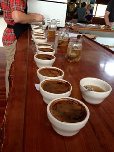 Big Island Events - Coffee Cupping on the Island of Hawai'i offered every Friday. Event info available at http://ediblehi.com/event/coffee-cuppings/?instance_id=1810