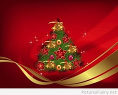 Cute little Christmas tree wallpaper