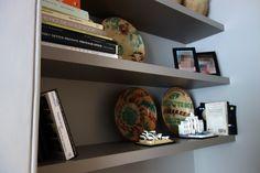 Floating Media Unit and Shelves | workshop-interiors