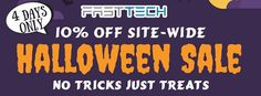 Vapor Joes - Daily Vaping Deals: HALLOWEEN: FASTTECH PUTS OUT A 10% SITE WIDE COUPO...