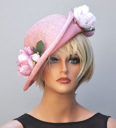 Women S Fashion Clearance Sale Wedding Hats For Guests, Pink Wedding Hats, Wedding Fascinators, Kate Middleton Hats, Tea Hats, Latest Short Hairstyles, Ascot Hats, Fancy Hats, Fascinator Hats