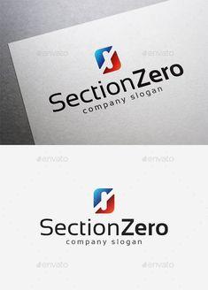 Section Zero  Logo Design Template Vector #logotype Download it here: http://graphicriver.net/item/section-zero-logo/10075486?s_rank=184?ref=nexion