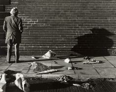 "Chris Killip ""True Love Wall, Gateshead Town Centre, Tyneside"" (1975)."