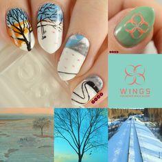 Uñas de Bts Spring Day creado por Not Your Average Nails Black Nail Designs, Nail Designs Spring, Simple Nail Designs, Acrylic Nail Designs, Nail Art Designs, Acrylic Nails, Korean Nail Art, Korean Nails, K Pop Nails