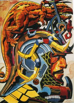 Cap'n's Comics: Tribes by Jack Kirby