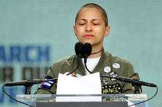 Emma González #activist #GunControl #heroes #tears #emotion