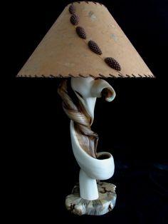 Rustic Table Lamp #rustic #tablelamp #juniperlamp #custom #homedecor