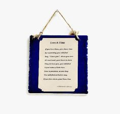 Inspirational Art Sign Ceramic Wall Plaque by IllusionCreations, $15.00