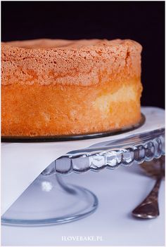 Biszkopt genueński - I Love Bake Polish Recipes, Vanilla Cake, Cheesecake, Food And Drink, Sweets, Cooking, Bakken, Kitchen, Cheesecakes