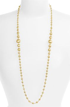 Marco Bicego 'Africa Gold' Graduated Long Strand Necklace