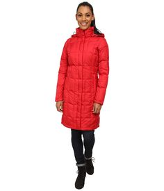 THE NORTH FACE THE NORTH FACE - METROPOLIS PARKA (TNF RED/TNF RED) WOMEN'S COAT. #thenorthface #cloth #