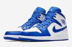 14d2559353c5ca Take A Look At The Air Jordan 1 Mid Hype Royal The Air Jordan 1 Retro