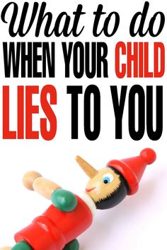 Parenting Tips for What To Do When Your Child Lies To You