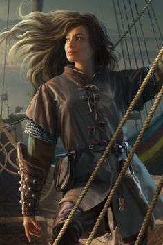Silver for monsters, Steel for humans story sea RPG Female Character Portraits Fantasy Concept Art, Fantasy Rpg, Fantasy Artwork, Fantasy Portraits, Character Portraits, Character Art, Dnd Characters, Fantasy Characters, Female Characters