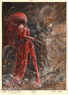 John Blanche - Arrce of the Covenant..