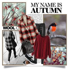"""My name is autumn"" by danielle-broekhuizen ❤ liked on Polyvore featuring rag & bone, Madewell, H&M and Vans"