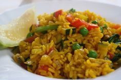 Delicious Vegetable Paella » Healthy Lunch Ideas