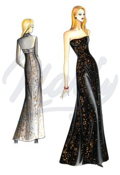 Sewing pattern Evening Gowns 2946