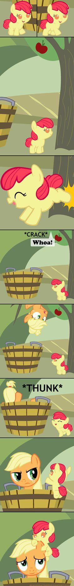 Applejack Bucking Season