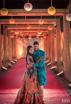 Photographer - Candid Clicks! Photos, Hindu Culture, Beige Color, Decoration, Sangeet, Sangeet Outfit pictures, images, vendor credits - Vipin Photography, Bianca, Sabyasachi Couture Pvt Ltd - 4687.