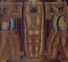 Flagelação 1923 | Vicente do Rego Monteiro óleo sobre tela, c.s.d. 80.00 x 90.00 cm Coleção Jaime Bobrow