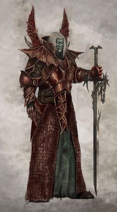 Hey everyone, I'm and today I want to continue on with my Vampire Counts Tactica! They are my new primary Warhammer Fantasy army a. Fantasy Races, Fantasy Warrior, Fantasy Rpg, Medieval Fantasy, Dark Fantasy Art, Warrior Angel, Warhammer Vampire Counts, Rpg Cyberpunk, Warhammer Fantasy Roleplay