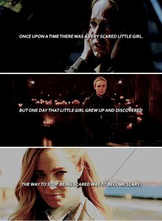 once upon a time there was a very scared little girl. but one day that little girl grew up and discovered the way to stop being scared was to become scared. #lot