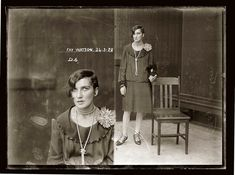 Vintage mugshot from 1920s Australia. Via La Boite Verte -- lots more at the site.