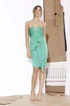 Abbey Strapless Dress
