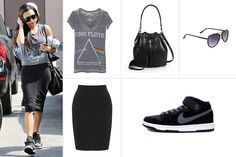 Best Dressed - The Week in Outfits June 13 - Elle Rock N' Roll Outfits, Celebrity Dresses, Celebrity Style, Pencil Skirt Outfits, Air Max Women, Rocker Style, Knit Skirt, Nice Dresses, Casual Outfits