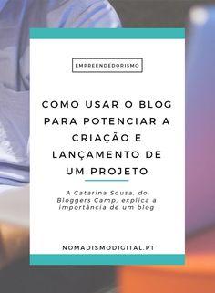 Um blog pode ser uma forma de conseguir criar e potenciar diversos projetos…