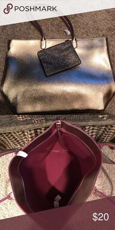 Bath & Body Huge gold bag NWT Pretty pretty bag!! Bags Shoulder Bags