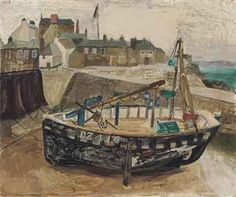 Christopher Wood (1901-1930) PZ 416, Cornwall oil on board 20 x 23¾ in. (50.8 x 60.4 cm.) Painted in 1930.
