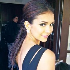 Stunning fishtail on Nina Dobrev.