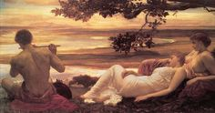 Lord Frederick Leighton (1830-1896) --Idyll