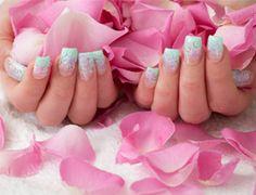 Model Showcasing Newly Manicured Nails