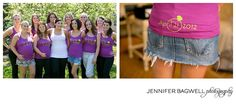 Custom tanks for bridesmaids!!