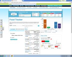 This is my week 7 food tracker.